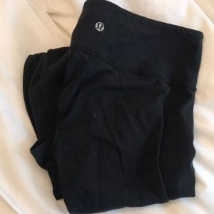 Lululemon Leggings — 1 long & 1 crop